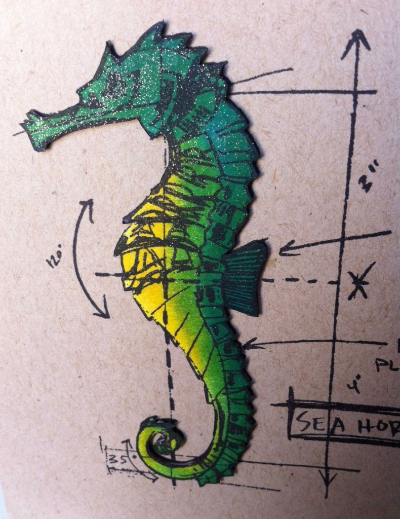 under the sea seahorse 1