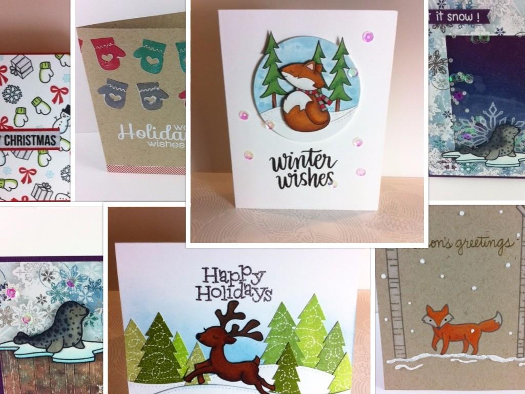 Weihnachtskarte 2015 Collage