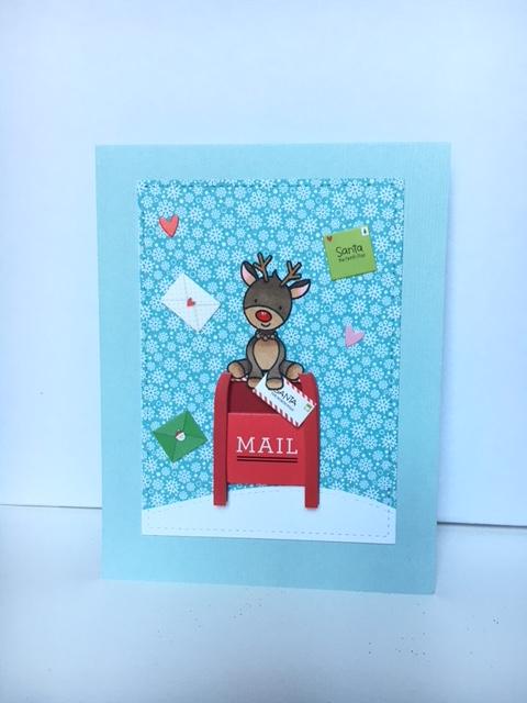 Mailbox deer